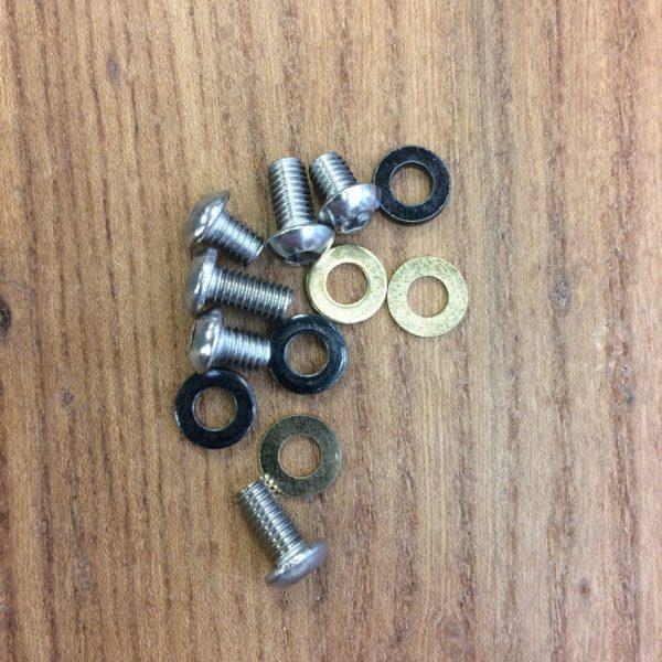 E*13 śruby iscg 8/12mm do stalowego backplateu